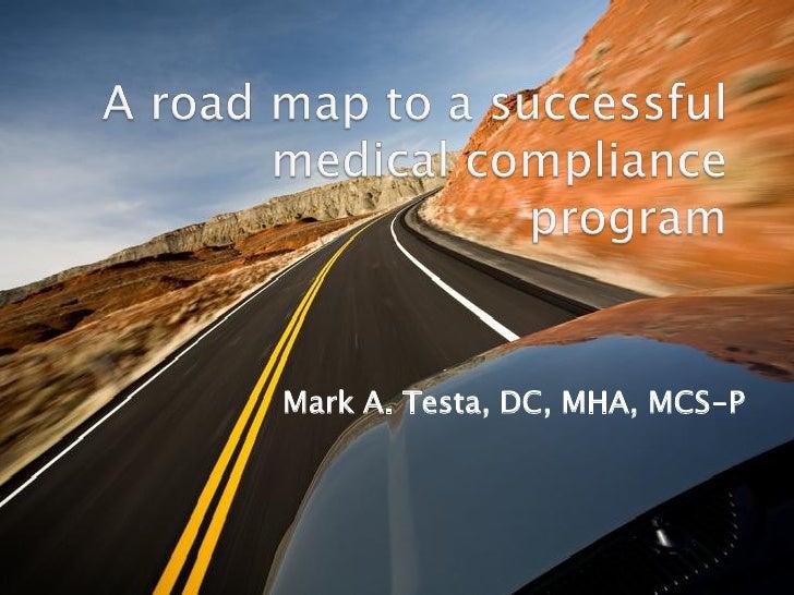 Mark A. Testa, DC, MHA, MCS-P