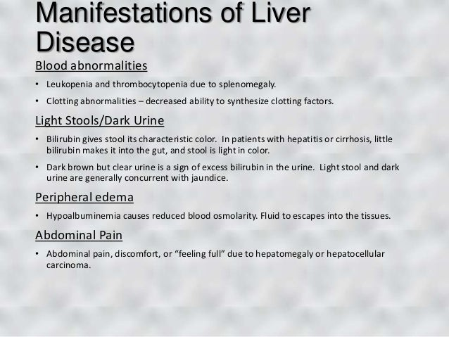 What Can Cause Light Colored Stools Liver Problems