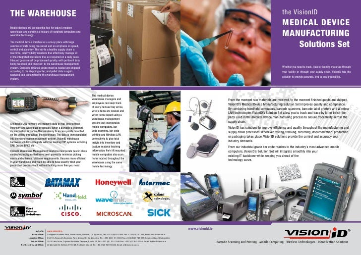the VisionID                                                                    MEDICAL DEVICE                            ...