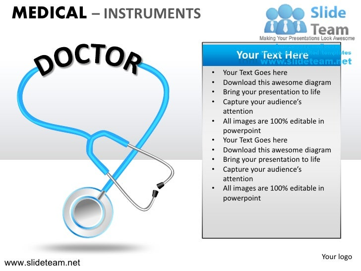 MEDICAL – INSTRUMENTS                                Your Text Here                         •   Your Text Goes here       ...