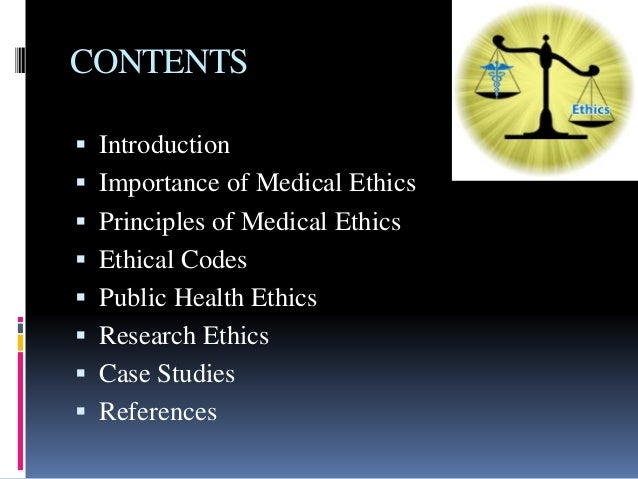 a look into a medical ethics case Learn more about the medical assistant code of ethics  in some cases, a medical professional dealing with medical ethics the portal is segmented into.
