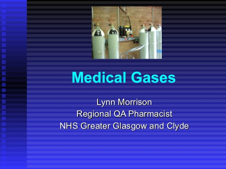 Medical Gases   Vocational Training   Stage 2 Pharmacists