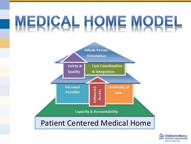Patient-centered medical home pcmh model