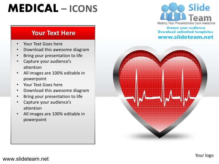 Medical icons thermometer bandaid powerpoint presentation templates.