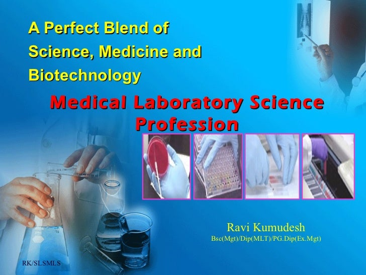 Medical Laboratory Professionals, Who are they ..?
