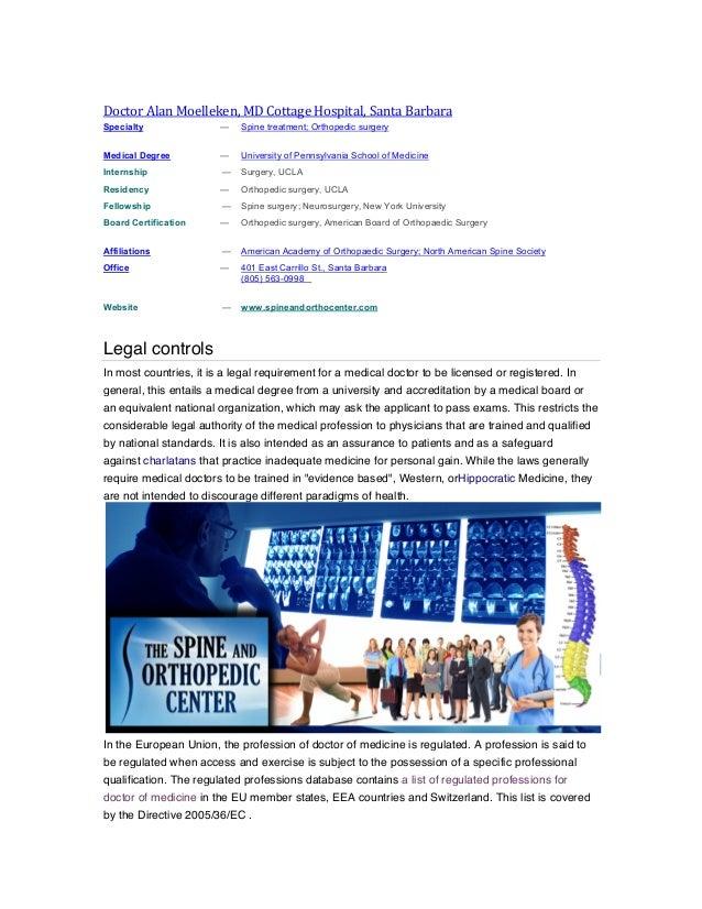 Medical legal controls alan moelleken md lawsuit antitrust medical terms md