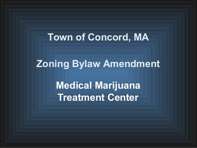 Medical marijuana ppt by marcia rasmussen, director of planning and land management, concord