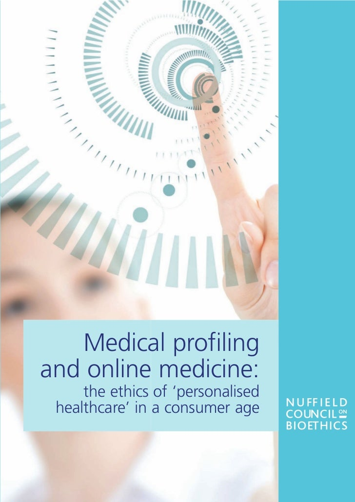 Brochure Medical Profiling and Online Medicine