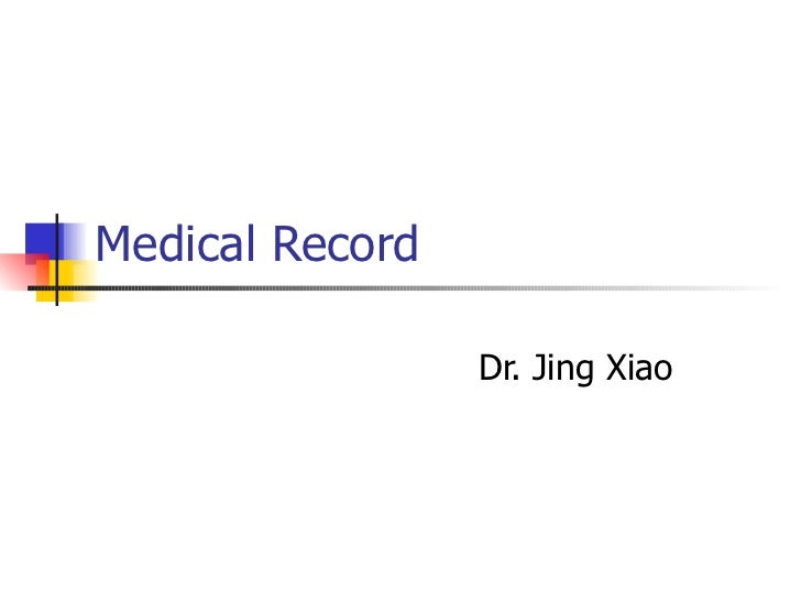 Medical record 20110614