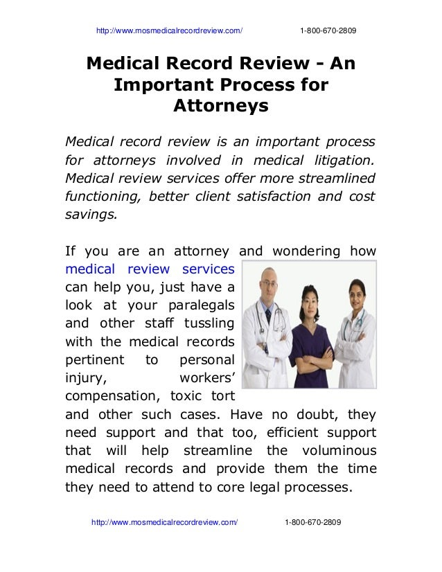 http://www.mosmedicalrecordreview.com/                          1­800­670­2809 Medical Record Review - An Im...