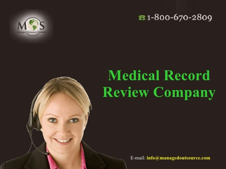 Medical Record Review Company   E-mail:   [email_address]