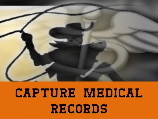 Capture Medical Records, Learn About Automated Data Capture for Medical Environments