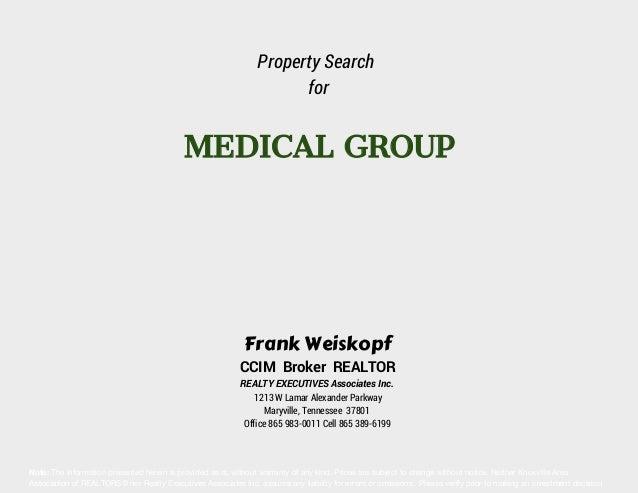 Medical Property Report