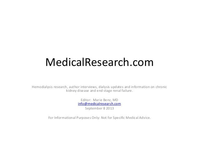 MedicalResearch.com:  Medical Research Interviews