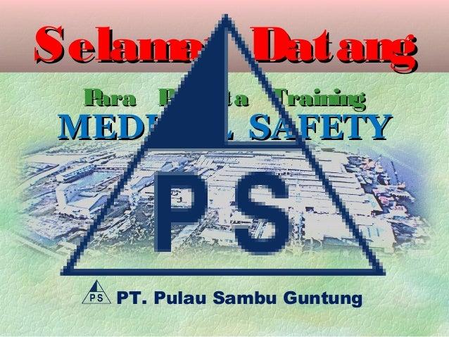 Medical safety (p3 k)