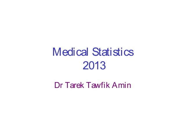 Medical statistics Basic concept and applications [Square one]