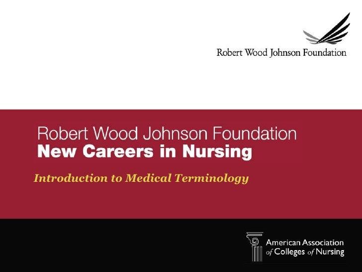 Medical terminology 2012