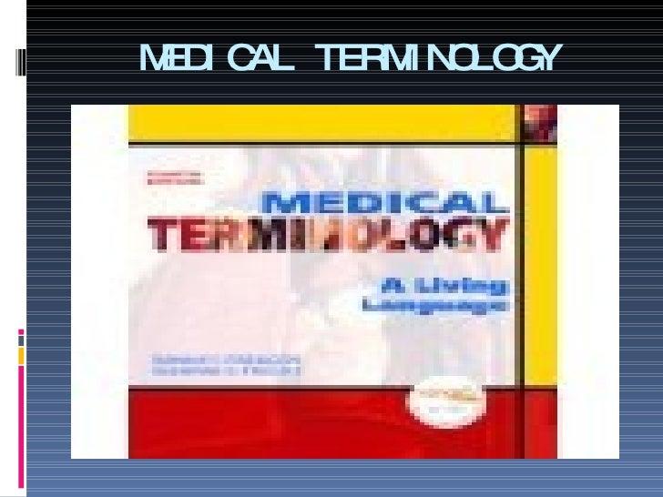 Medical Term Presentation 2