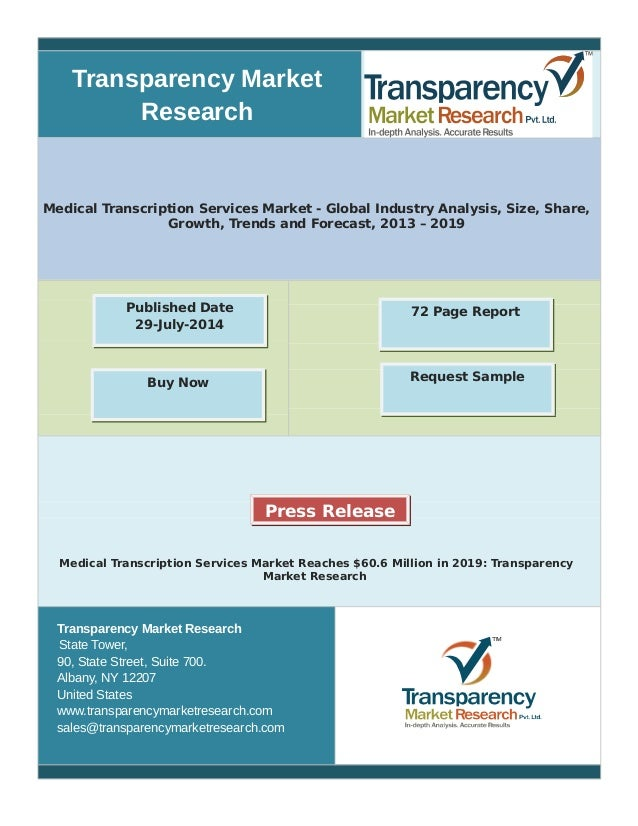 Medical Transcription site for research