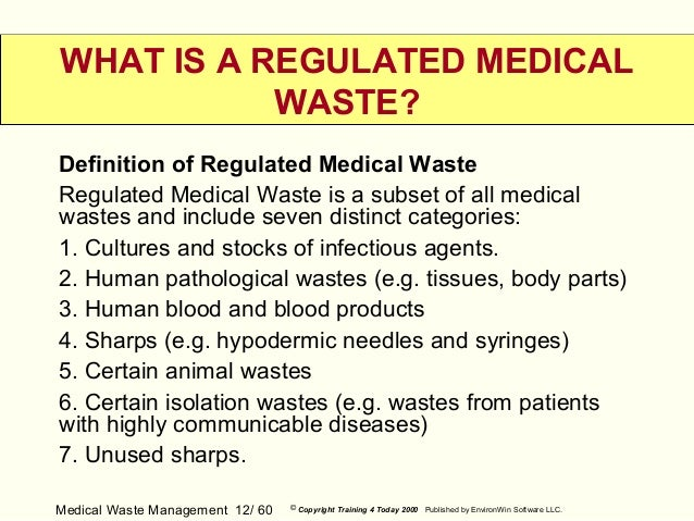 thesis related to biomedical waste management
