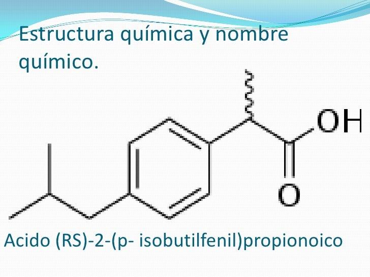 Medicamento ibuprofeno