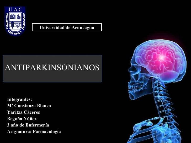 Medicamentos antiparkinsonianos.ppt fármaco mvm