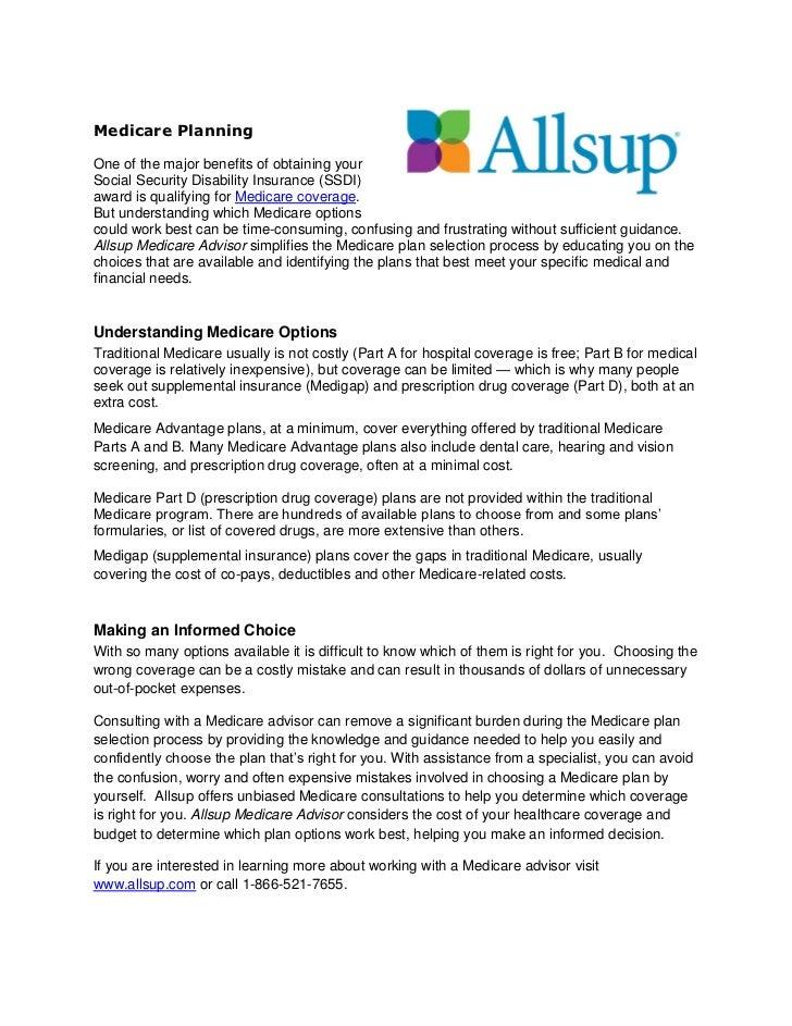 Medicare planning pdf