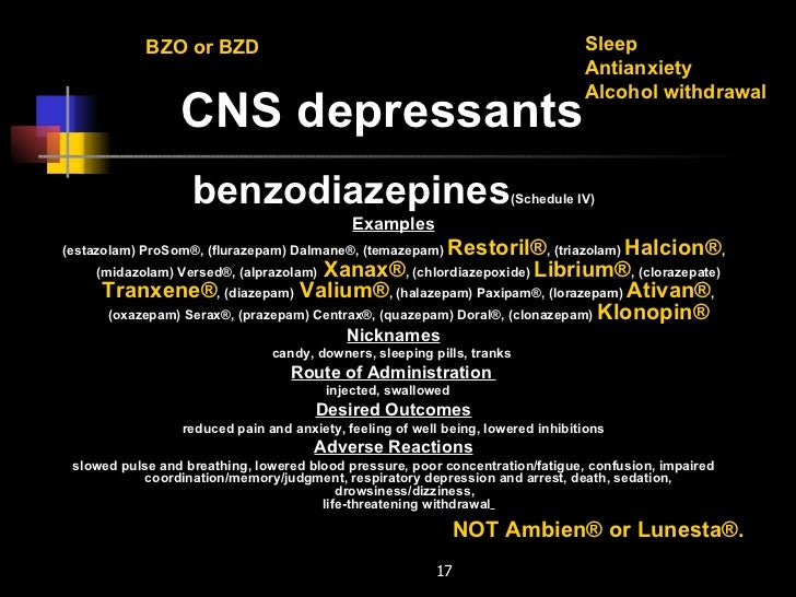 clonazepam withdrawal and blood pressure