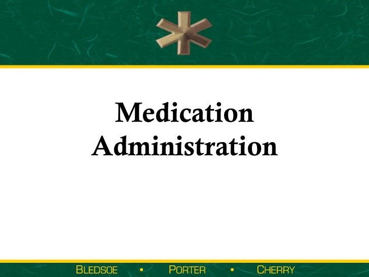 Medication administration part 2