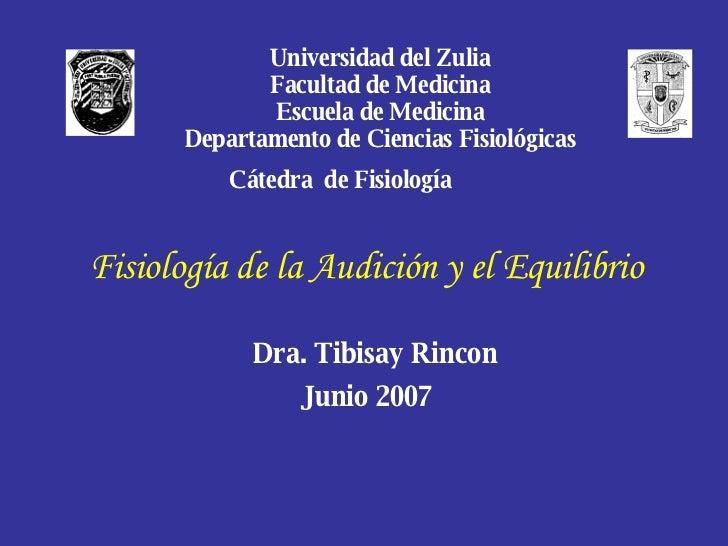 Medicina   Fisiologia Oído Y Equilibrio