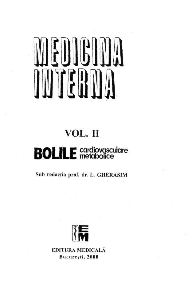 Medicina interna vol.2 l. gherasim
