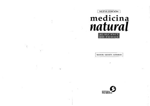 Medicina natural al alcance de todos