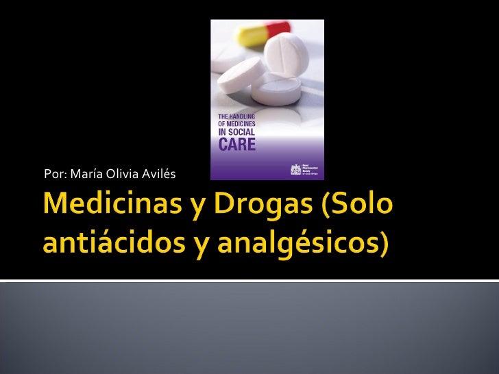 Medicinas Y Drogas