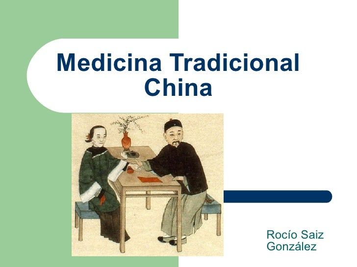 Medicina Tradicional China Rocío Saiz González