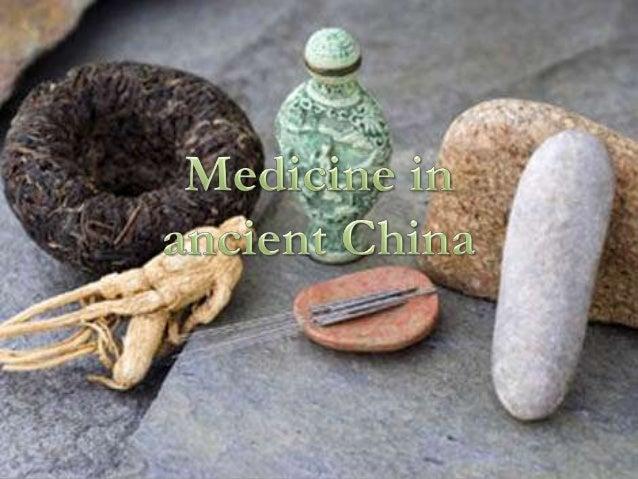 Medicine in ancient china