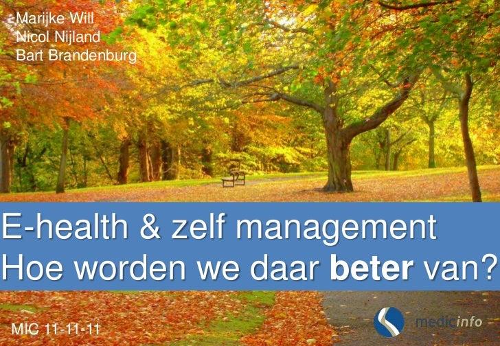 Medicinfo MIC conference 2011 1111