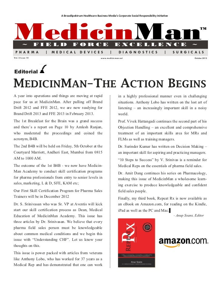 MedicinMan  October 2012