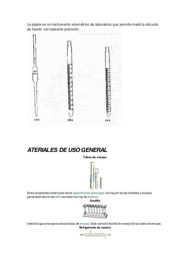 La pipeta es un instrumento volumétrico de laboratorio que permite medir la alícuota de líquido con bastante precisión. AT...