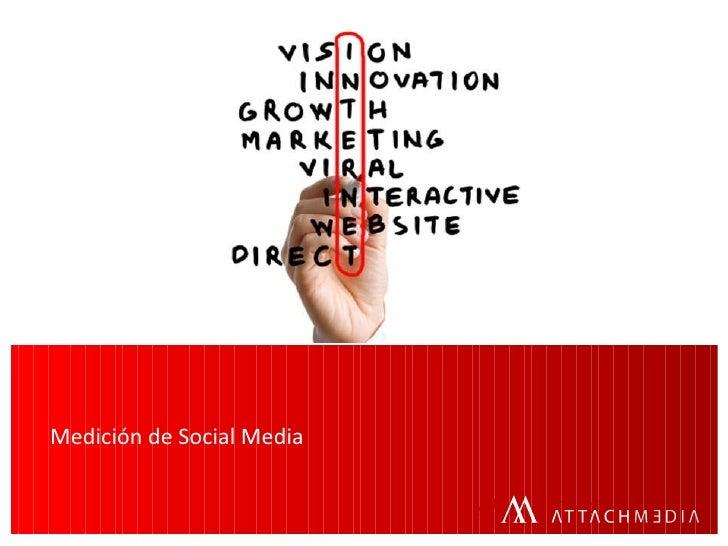 Medición de Social Media