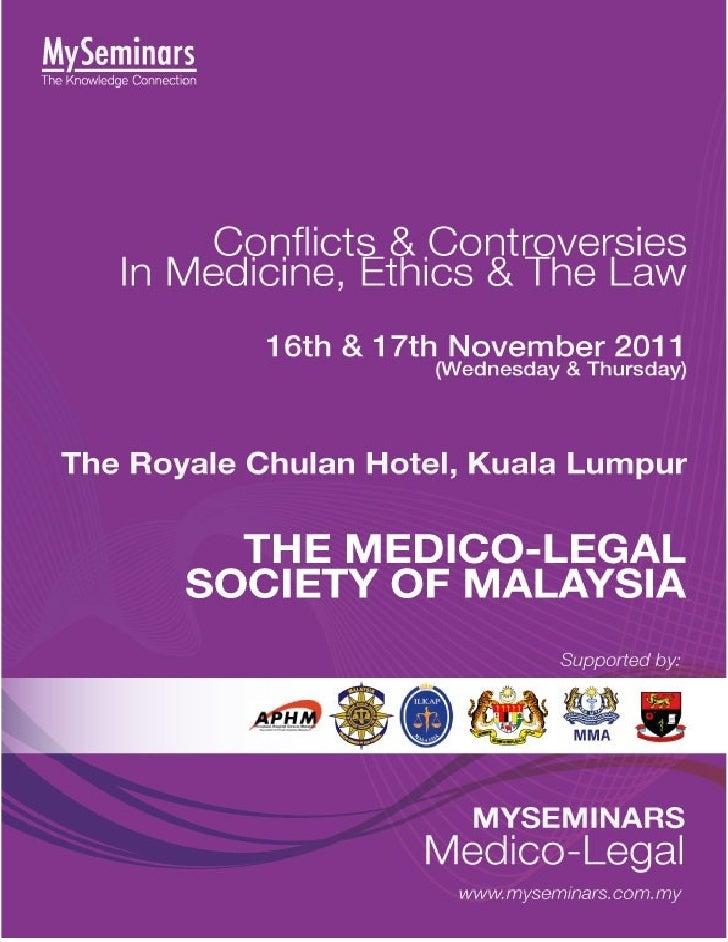 Medico legal conference 2011