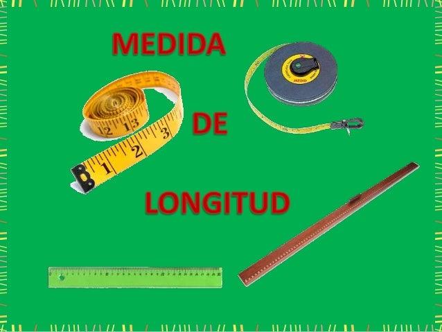Medida de longitud