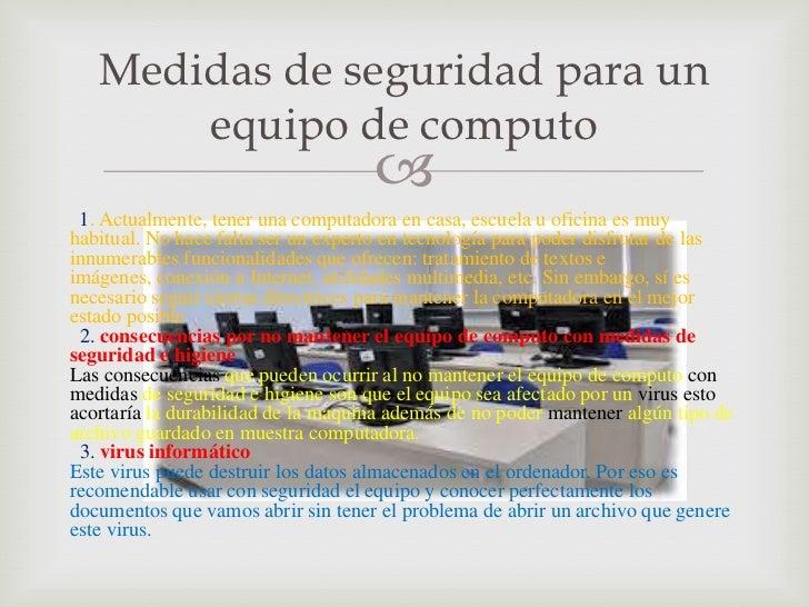 Medidas de seguridad del equipo de computo for Medidas para mueble de computadora