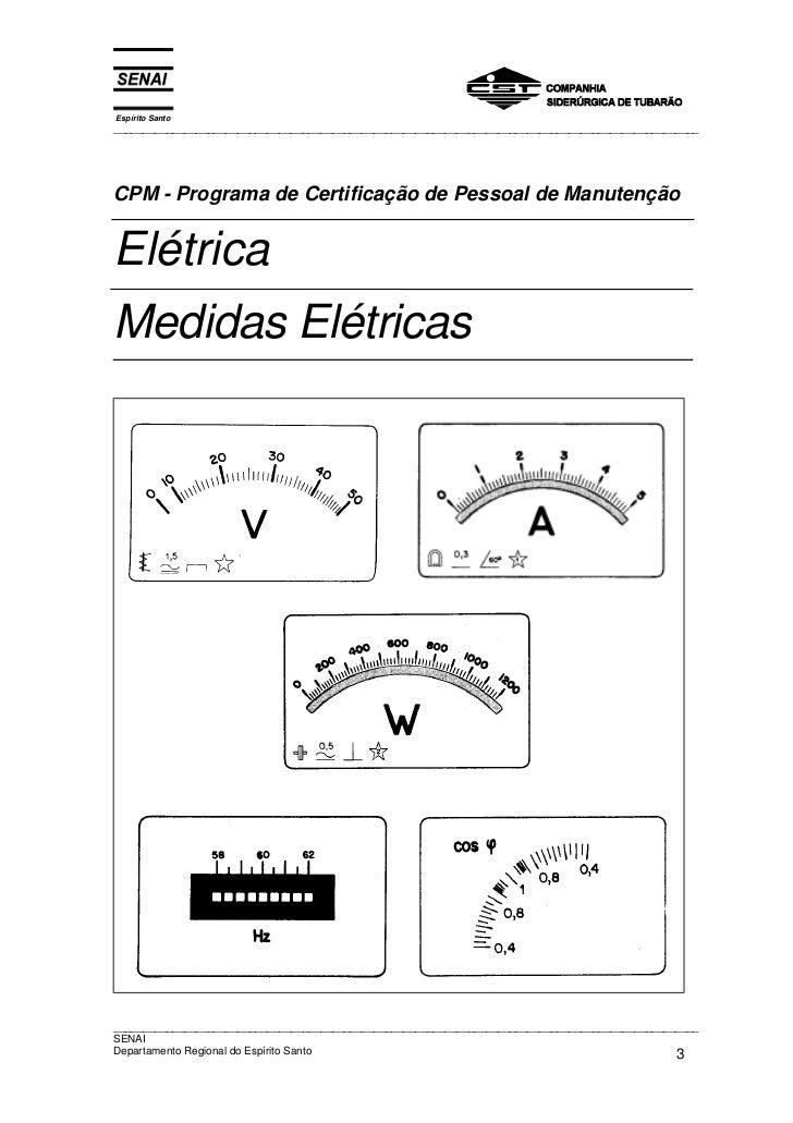 Medidas eletricas   senai