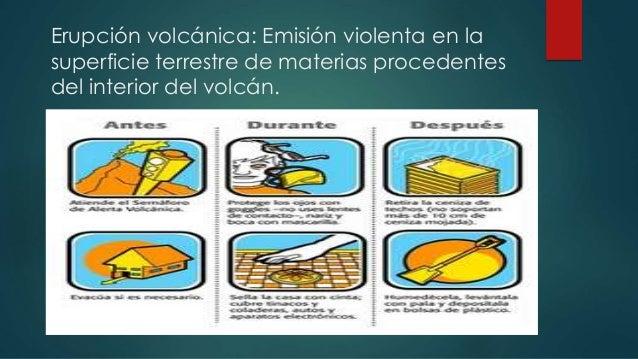 Medidas preventivas en caso de emergencia