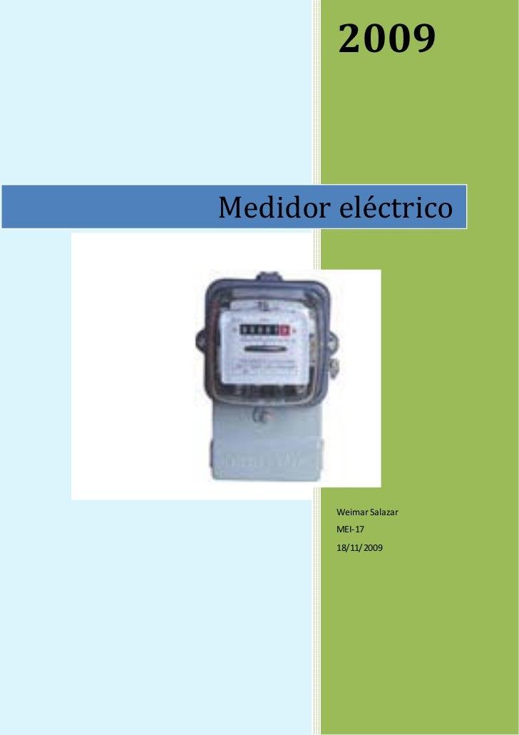 Medidor Electrico