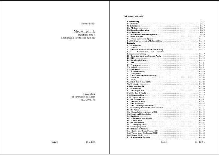 Inhaltsverzeichnis                                                   1. Einleitung . . . . . . . . . . . . . . . . . . . ....