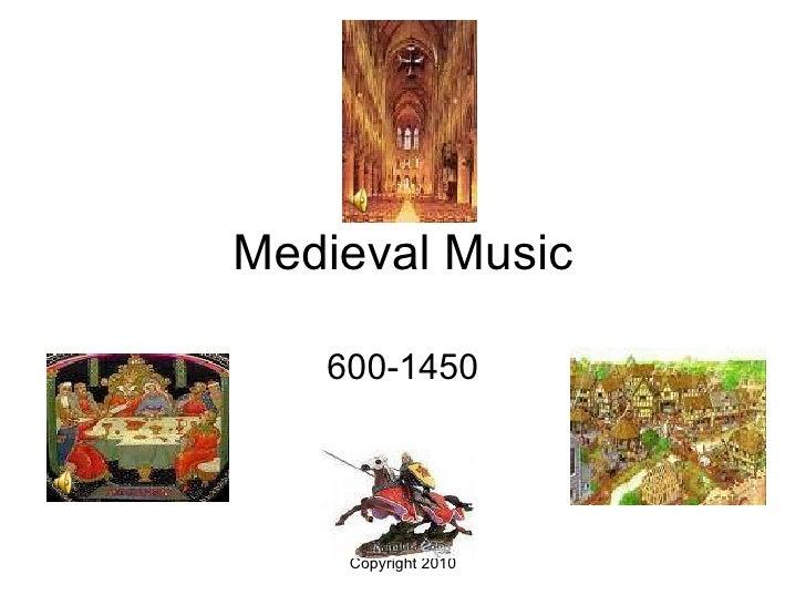Medieval Music 600-1450