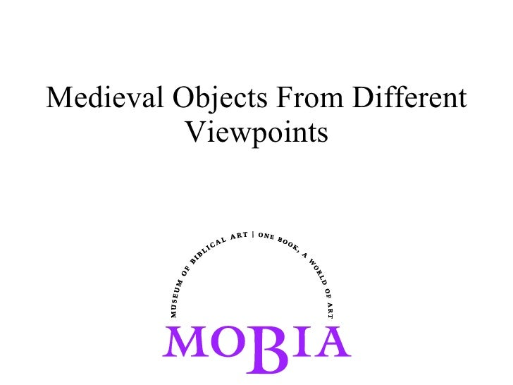 Medieval Objects From Different Viewpoints
