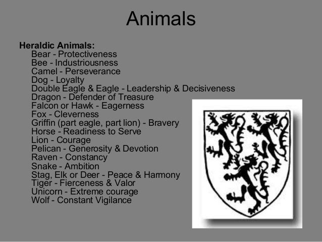 the gallery for gt heraldry symbols animals and meanings