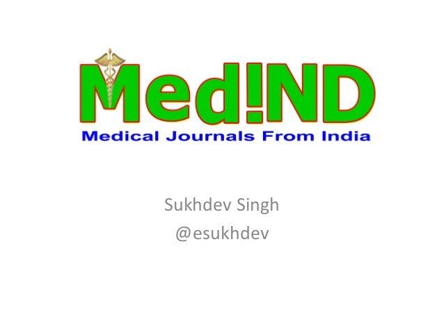 MedIND Presentation at ICADL 2013